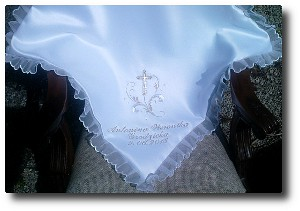 Polish Baptism Blanket