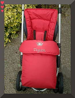 Bugaboo Frog Footmuff Red - perfect companion!