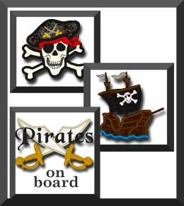 Pirate themed designs