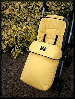 Yellow Footmuff Universal