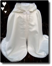 Christening/Baptism cape gown