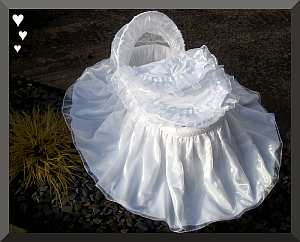 Moses basket white