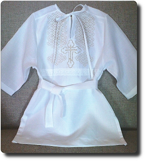 Traditional Russian Shirt for a toddler