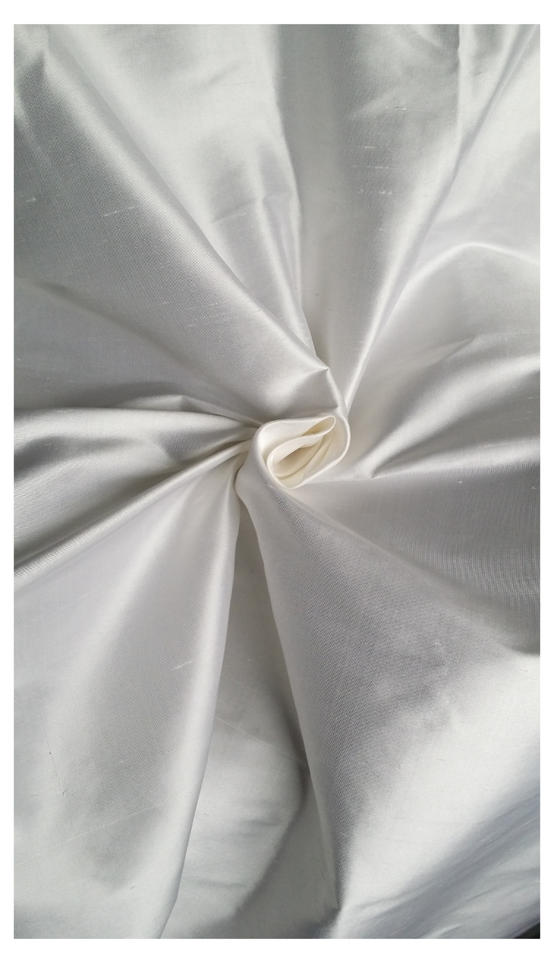 Bridal silk fabric